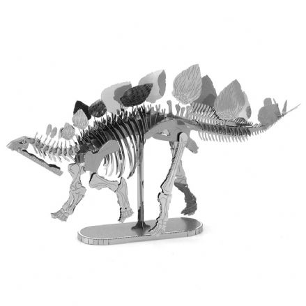Metal Earth Dinosaur Model Kit Stegosaurus Skeleton